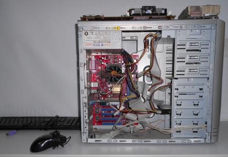 L'intérieur de l'ordinateur